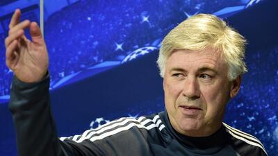 CArlo Ancelotti espera seguir en el Real Madrid.