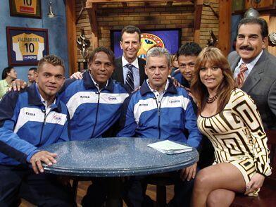 Los grandes de Honduras de visita en la República.