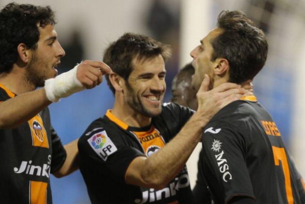 Los dos goles valencianistas fueron obras de Jonás.