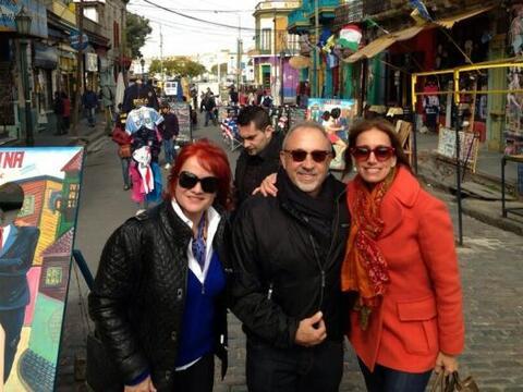 Lili Estefan aprovechó sus vacaciones para ir de viaje a Argentin...