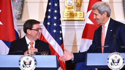 EEUU y Cuba restablecen formalmente sus relaciones
