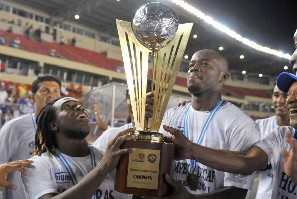 En Honduras todo fue fiesta, ya que lograron su cuarta Copa, esta vez de...