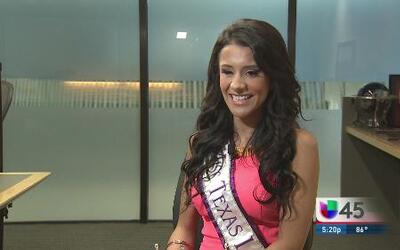 ¡Miss Texas es latina!