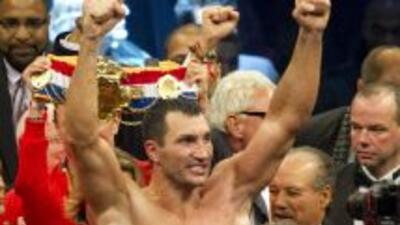 Wladimir Klitschko no tuvo problemas contra Mormeck.
