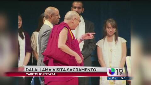 El Dalai Lama visita Sacramento