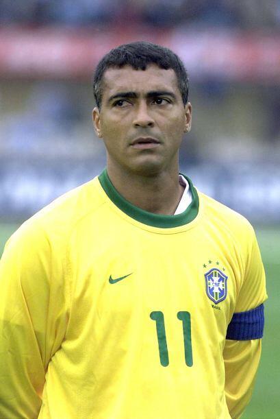 Romario da Souza Faria ganó con Brasil en Estados Unidos 1994 y a nivel...