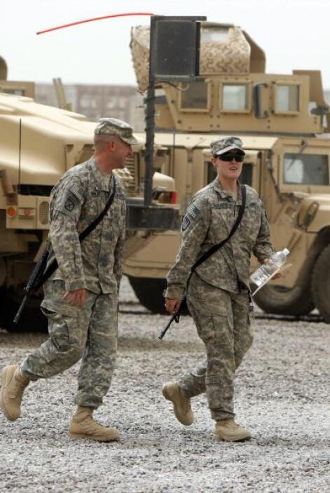 """La Casa Blanca calificó hoy la retirada de las tropas de Irak como """"un l..."""