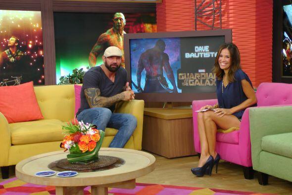 En entrevista con Karla Martínez, el actor de la cinta 'Guardians of the...