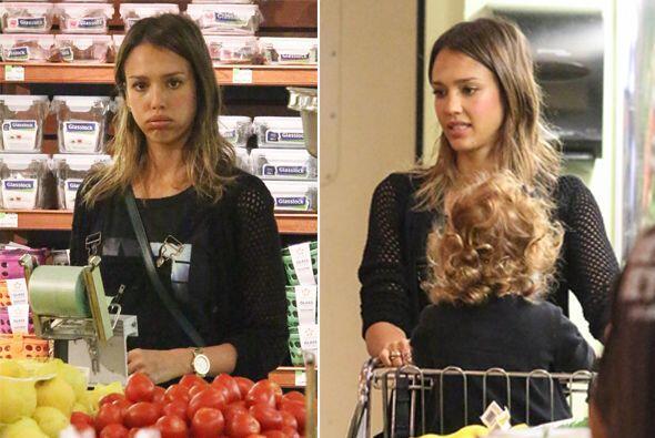 ¡Pobre! La actriz sufrió al comprar, pues no se encontraba...