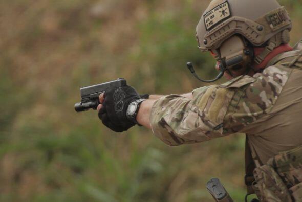 Centrándose en el evento Fuerzas Comando 2012 que se llevó...