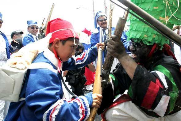 El ejército francés ingresó por el Puerto de Veracruz, en el Golfo de Mé...