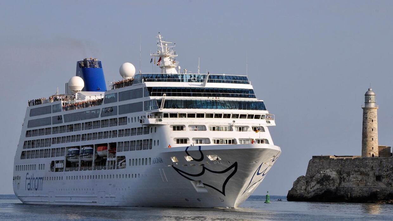 Primer crucero estadounidense llega a las costas de Cuba