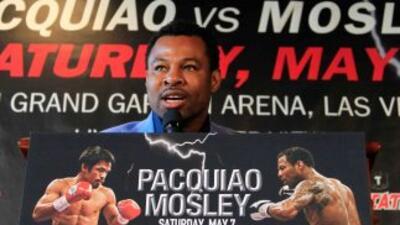Shane Mosley derrocha confianza para su combate ante Manny Pacquiao.