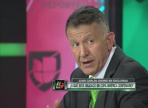 Osorio asegura que México estará entre los mejores tres de la Copa Améri...