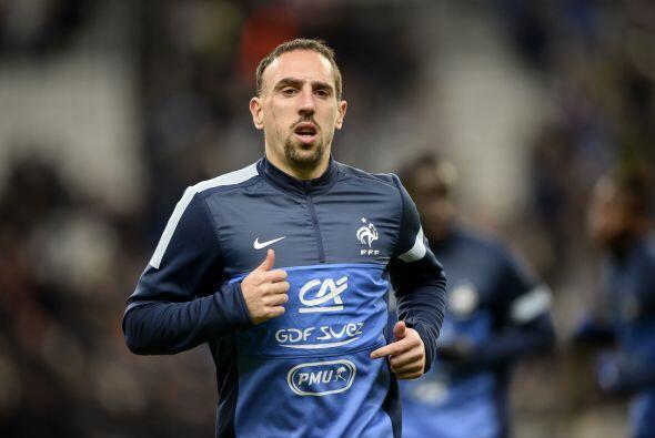 Franck Ribéry es el hombre de caracter en este conjunto galo y todas las...