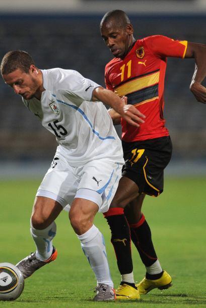 Edison Cavani y Abel Hernández anotaron para el equipo sudamerica...