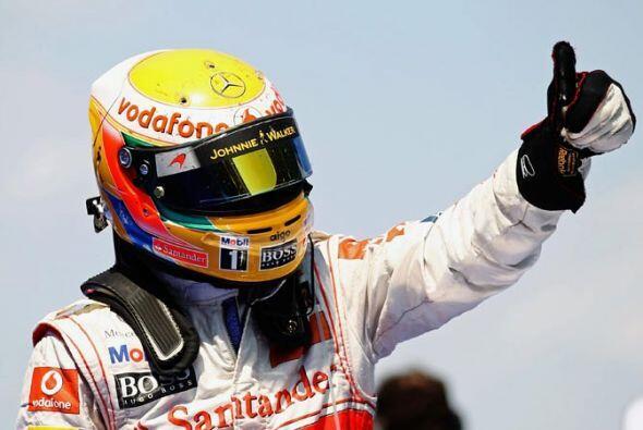 Para Lewis Hamilton fue un segundo lugar muy luchado, que lo confirm&oac...