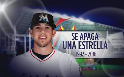 Decenas rinden honor a José Fernández en el Marlins Park