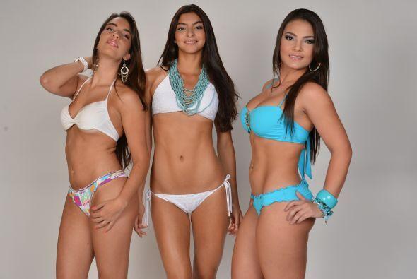 Jóvenes hermosas y talentosas, y bikinis llamativos y bonitos, ¿qué más...