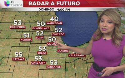 La nubosidad va a continuar en Chicago durante el fin de semana