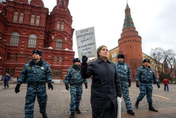 La mayoría de las detenciones, acuerdo con activistas, se produje...