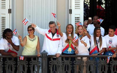 """""""Qué rico es ser puertorriqueño"""", dijo el mandatario en un..."""