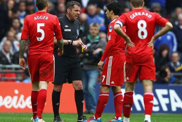 Para sorpresa de todos, el árbitro dijo que no cruzó la l&...