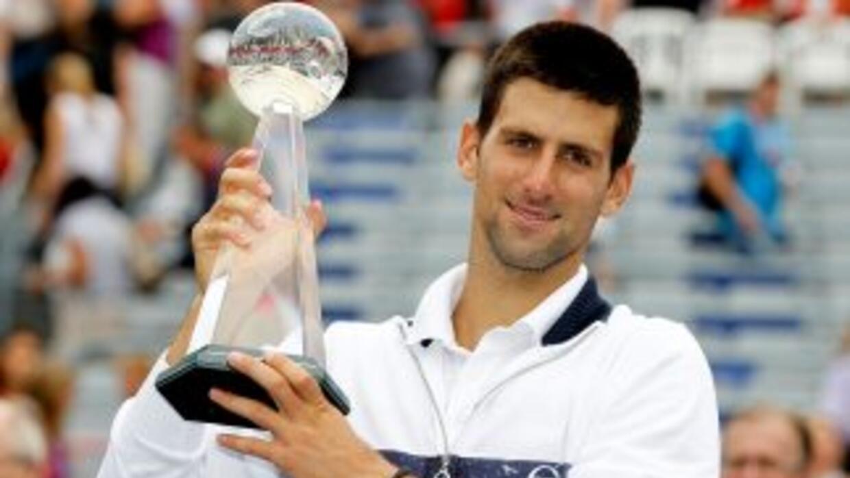 Novak Djokovic es el 1er jugdor en la historia en ganar 5 Masters 1000 e...