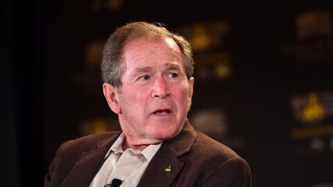 Bush habló por primera vez sobre la gestión del presidente Trump.