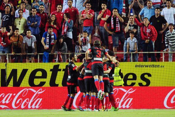 El 'Tigre' llegó a 25 goles en Liga española y de paso le dio los tres p...