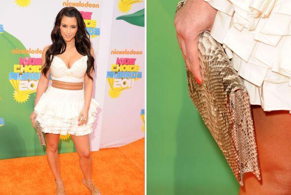 Kardashian ha declarado ser fan de los diseños de Adriana Castro,...