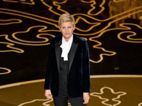 """Ellen Degeneres fue la encargada de presentar los """"scar en este 201..."""