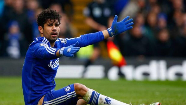 Diego Costa adelantó a los 'Blues', pero no pudo evitar la igualada en s...