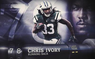 Top 100 Jugadores del 2016: (Lugar 78) RB Chris Ivory