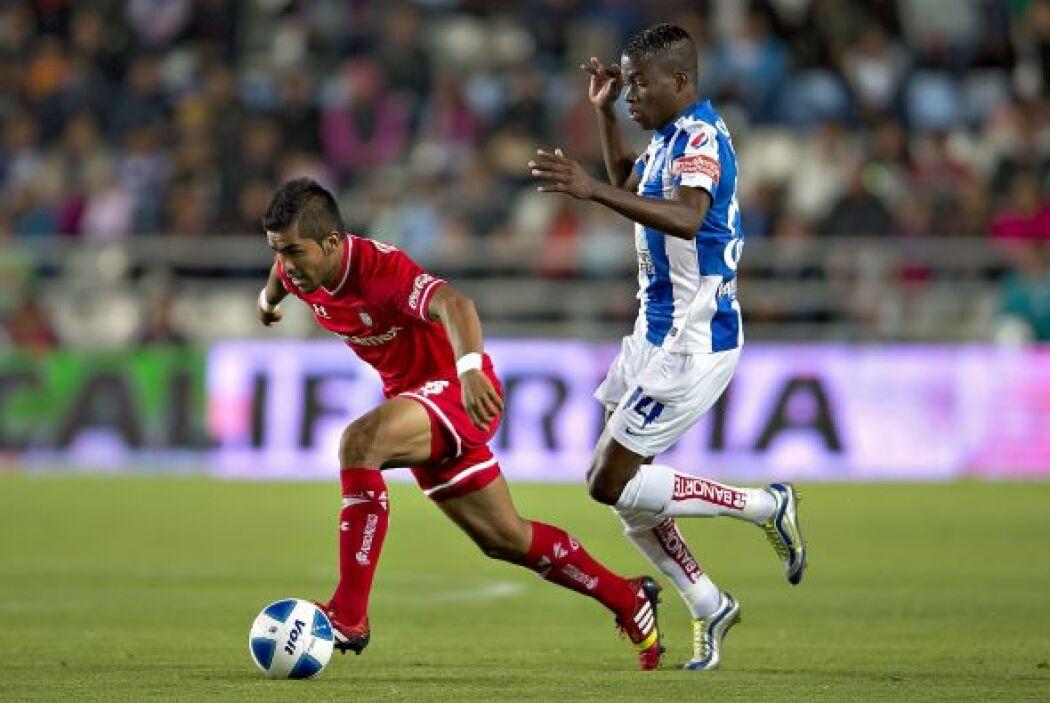 Miguel Angel Ponce: Muy participativo el lateral izquierdo del Toluca, q...