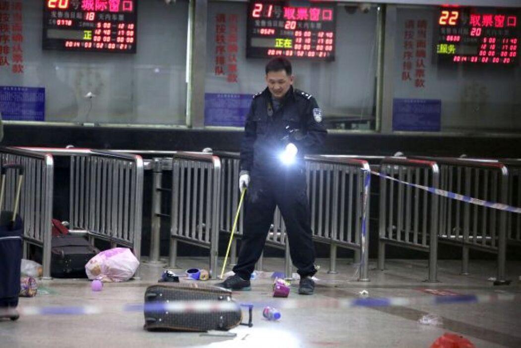 """El Ministerio Público de Seguridad chino calificó al ataque como un """"cri..."""