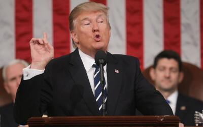 Trump dice que el sistema migratorio de EEUU debe basarse en méritos