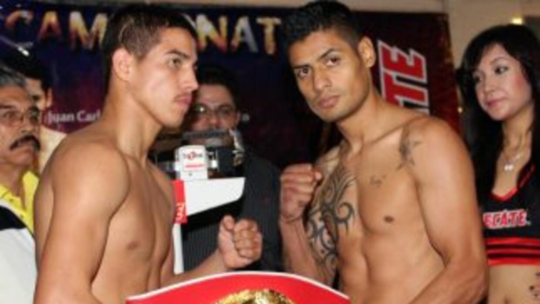 Salgado y Beltrán no tuvieron problemas con el peso (Foto: HG Boxing)