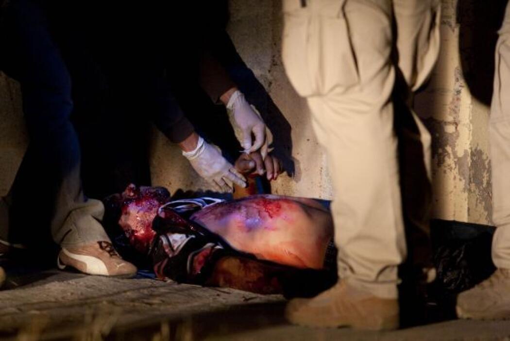 El número de muertos en hechos de violencia relacionados con el narcotrá...