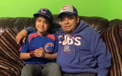Fans los Cubs comparten sus fotos mostrando su apoyo al equipo que est&a...