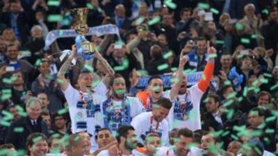 El Nápoles se coronó campeón de Coppa de Italia.