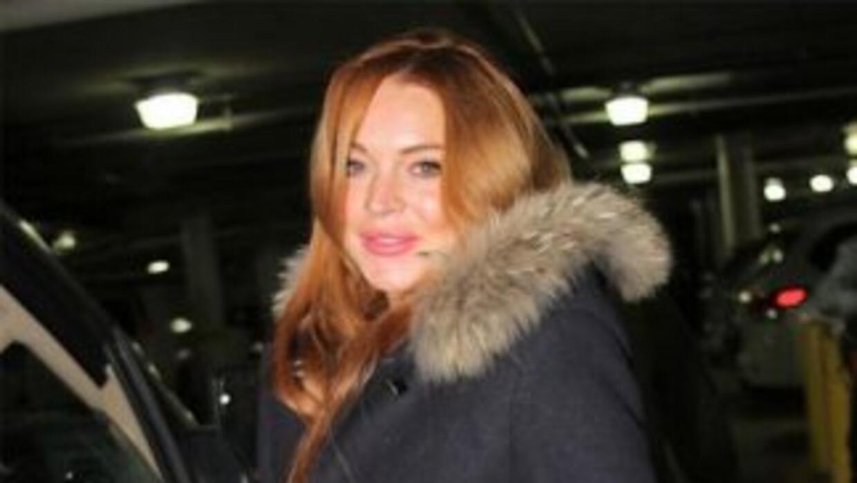La actriz Lindsay Lohan ha querido desvincularse de los rumores que la r...