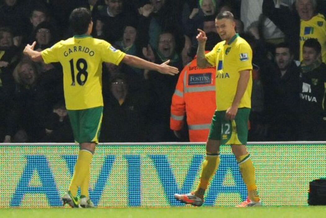 El gol de Anthony Pilkington en la segunda parte valió para el triunfo d...
