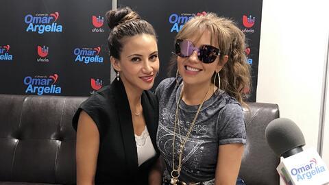 Thalia en el show de Omar y Argelia.