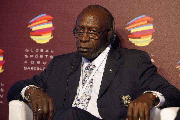 Jack Warner, dirigente de la Confederación de Concacaf y ministro...