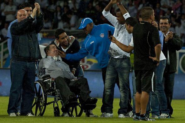 Previo al encuentro el ex entrenador del Once Caldas, Fernando Montoya,...