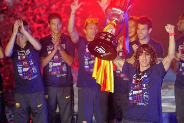 El Barcelona consiguió la Copa del Rey ante el Atlético de Bilbao y el c...
