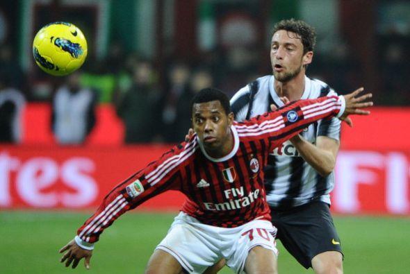 El Milan recibió la visita de la Juventus en un clásico lleno de historia.