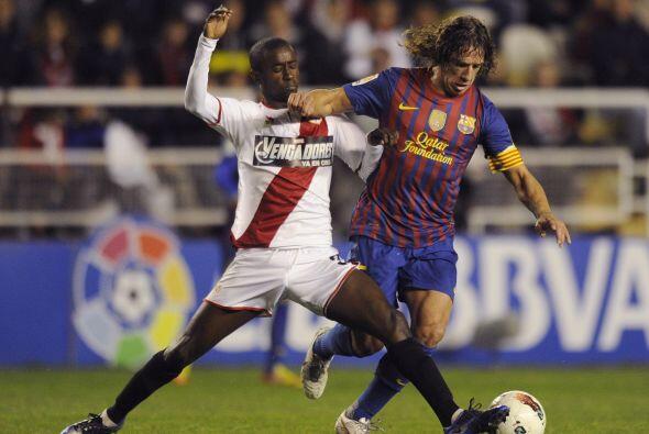Pero apenas comenzó el juego, el barcelona que jugaba con varios...