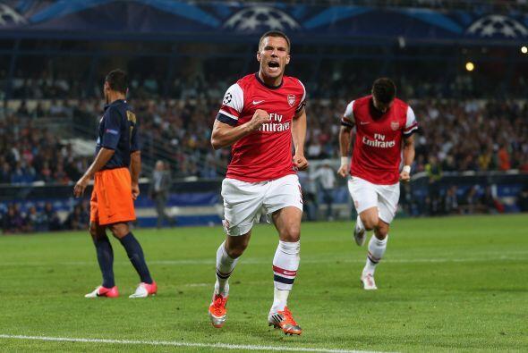 Pero los 'Gunners' no tardaron en reaccionar y el atacante alemán Lukas...